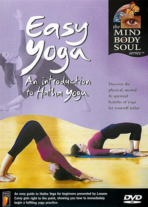 Easy Yoga: An Introduction to Hatha Yoga Online DVD Rental