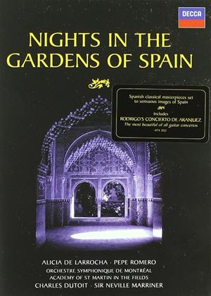 Dutoit: Nights in the Gardens of Spain Online DVD Rental