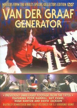 Rent Van Der Graaf Generator: Masters from the Vault Online DVD Rental