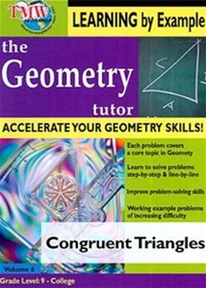 The Geometry Tutor: Congruent Triangles Online DVD Rental