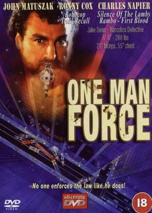 Rent One Man Force Online DVD Rental