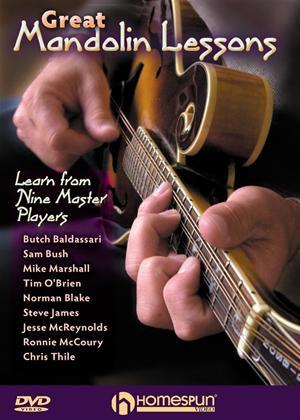 Great Mandolin Lessons Online DVD Rental