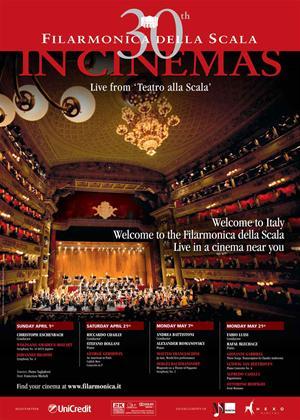 Rent Brahms and Mozart: Filarmonica Della Scala: 30th Anniversary Online DVD Rental