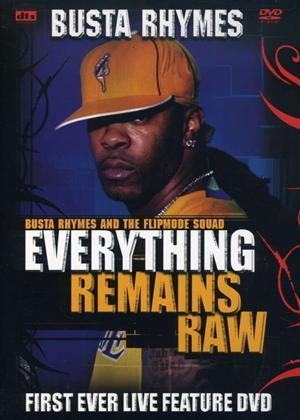 Busta Rhymes: Everything Remains Raw: Live Online DVD Rental
