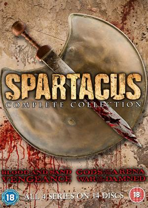 Spartacus: The Complete Collection Online DVD Rental