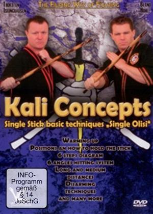 Rent Kali Concepts Single Stick basic techniques: Single Olisi Online DVD Rental