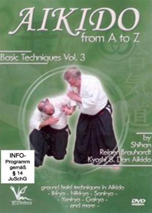 Aikido A-Z: Vol.3 Online DVD Rental