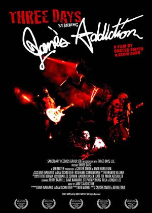 Jane's Addiction: Three Days Online DVD Rental