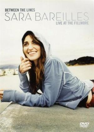 Sara Bareilles: Between the Lines: Live at the Fillmore Online DVD Rental