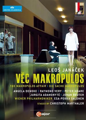 Rent The Makropulos Case: Wiener Philharmoniker (Salonen) Online DVD Rental
