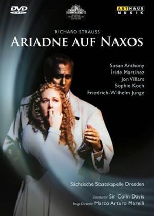 Ariadne Auf Naxos: Staatskapelle Dresden Online DVD Rental