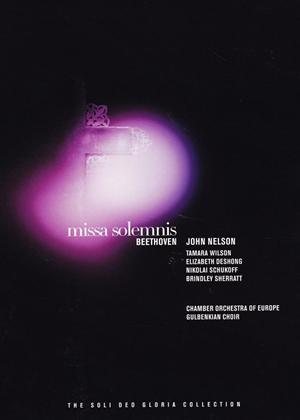Beethoven: Missa Solemnis (Nelson) Online DVD Rental