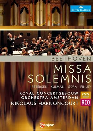 Rent Beethoven: Missa Solemnis (Harnoncourt) Online DVD Rental