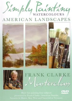 Simply Painting Watercolours: American Landscapes Online DVD Rental