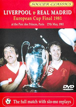 1981 European Cup Final: Liverpool vs. Real Madrid Online DVD Rental