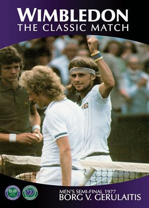 Wimbledon Classic Matches: 1977 Mens Semi Final: Borg V Gerulaitis Online DVD Rental