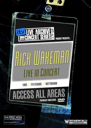 The ITV Sessions: Rik Wakeman: Live in Conert Online DVD Rental