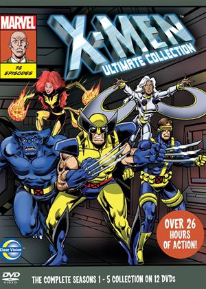 X Men Season Art Card Boxset Online DVD Rental
