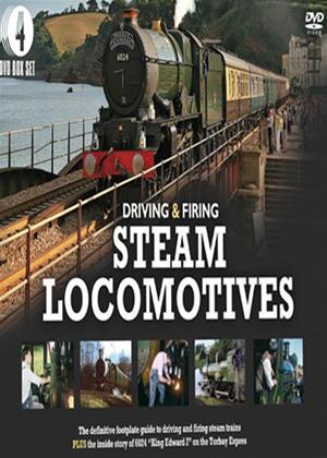 Driving and Firing Steam Locomotives Online DVD Rental