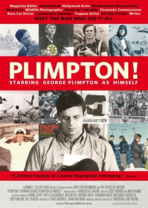 Rent Plimpton! Starring George Plimpton as Himself Online DVD Rental