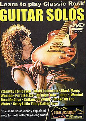 Rent Learn to Play: Classic Rock Guitar Solos: Vol.1 Online DVD Rental