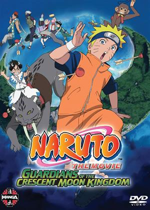 Rent Naruto the Movie 3: Guardians of the Crescent Moon Kingdom Online DVD Rental
