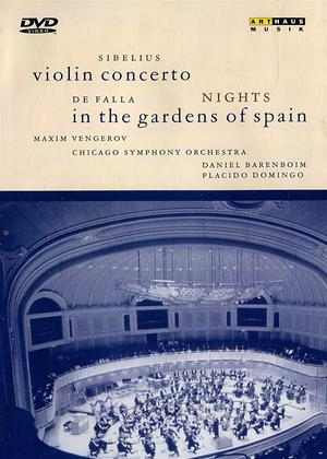 Rent Sibelius: Violin Concerto / De Falla: Nights in the Gardens of Spain Online DVD Rental