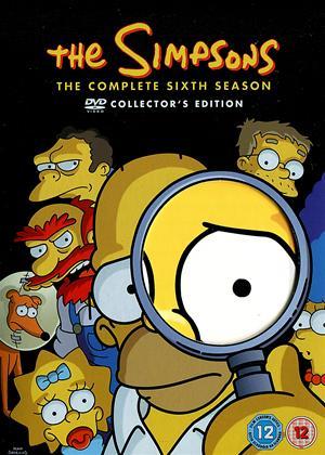 The Simpsons: Series 6 Online DVD Rental