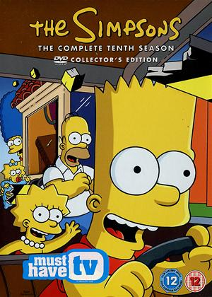 The Simpsons: Series 10 Online DVD Rental