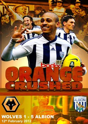 West Bromwich Albion: Orange Crushed: Wolves 1: 5 Albion Online DVD Rental