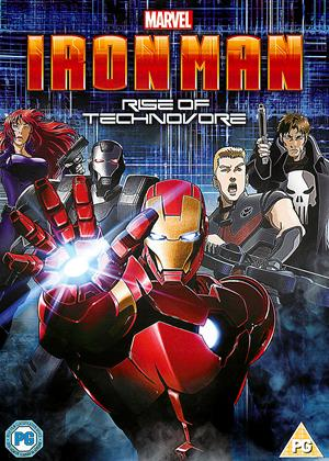 Iron Man: Rise of Technovore Online DVD Rental