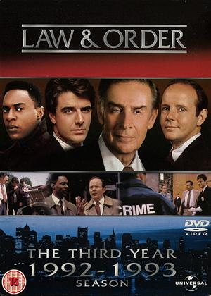 Law and Order: Series 3 Online DVD Rental