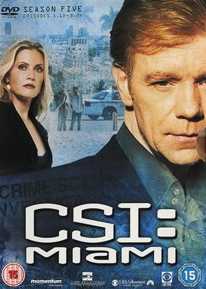 Rent CSI Miami: Series 5: Part 2 Online DVD Rental