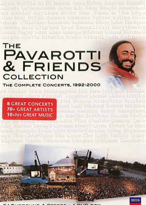Rent Pavarotti and Friends Collection Online DVD Rental