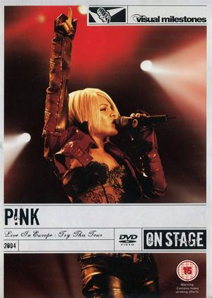 Pink: Live in Europe Online DVD Rental