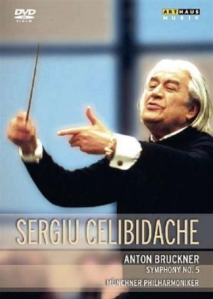 Rent Bruckner: Symphony No. 5 in B Flat Major (Celibidache) Online DVD Rental