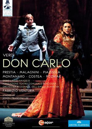 Rent Don Carlo: Teatro Comunale (Ventura) Online DVD Rental