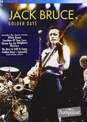 Jack Bruce: Golden Days Online DVD Rental