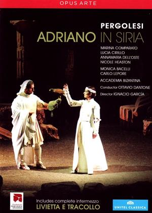 Rent Adriano in Syria: Teatro Comunale Pergolesi (Ottavio Dantone) Online DVD Rental