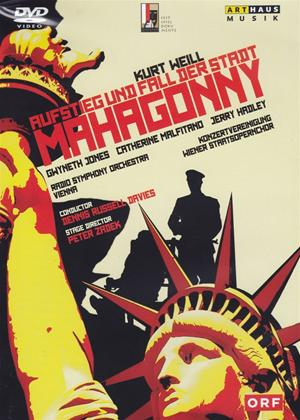 Aufstieg Und Fall Der Stadt Mahagonny: Wiener Staatsoper (Davies) Online DVD Rental