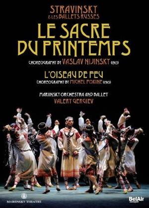 Rent Le Sacre Du Printemps/The Firebird: Mariinsky Ballet (Gergiev) Online DVD Rental