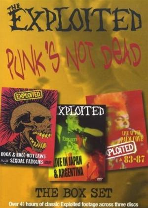 The Exploited: Punks Not Dead Online DVD Rental