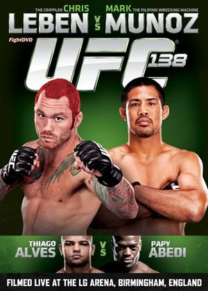 Rent UFC: 138: Leben vs. Munoz (aka Ultimate Fighting Championship: 138: Leben vs. Munoz) Online DVD Rental