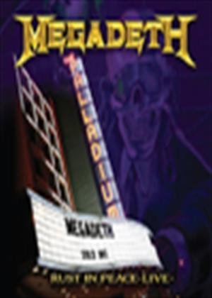 Megadeth: Rust in Peace: Live Online DVD Rental