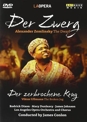 Rent Der Zwerg: Der Zerbrochene Krug: Los Angeles Opera Online DVD Rental