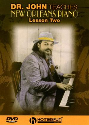Rent Doctor John Teaches New Orleans Piano: Vol.2 Online DVD Rental