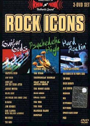 Rock Icons: Hard Rocking: Guitar Golds Online DVD Rental