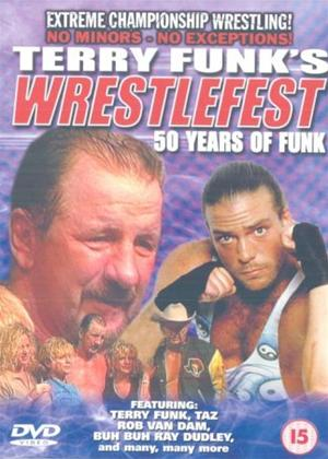 ECW: Terry Funks Wrestlefest Online DVD Rental