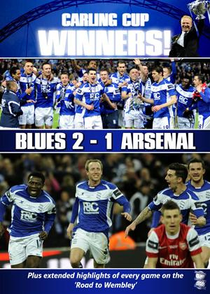Rent Carling Cup Final 2011: Birmingham City 2 Arsenal 1 Online DVD Rental