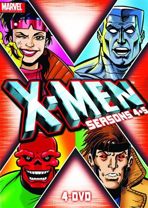Rent X-Men: Series 4 and 5 Online DVD Rental